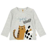 HEMA Newborn T-shirt Grijsmelange (grijsmelange)